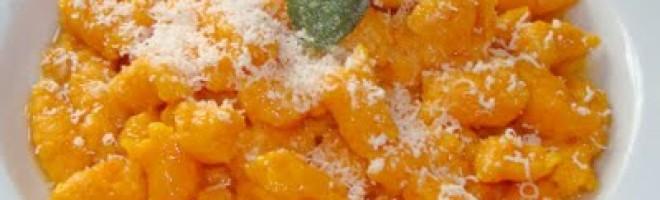 Ñoquis de Auyama en Salsa de Salvia