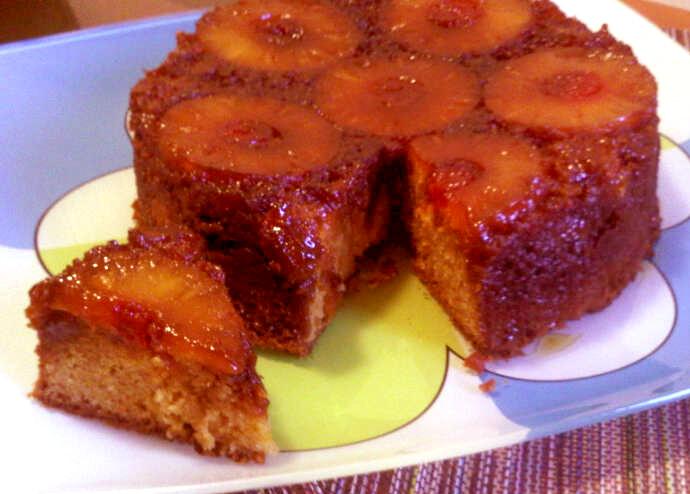 como hacer pastel de pina