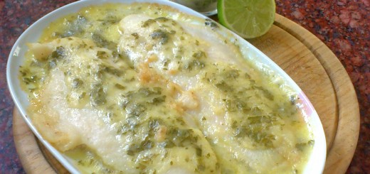 Filete de Corvina en Salsa al Limón